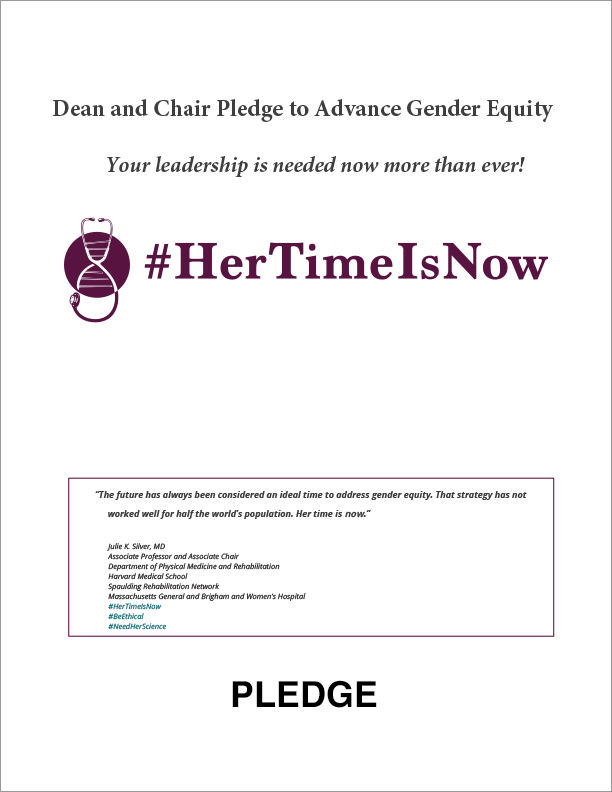 #HerTimeIsNow Pledge