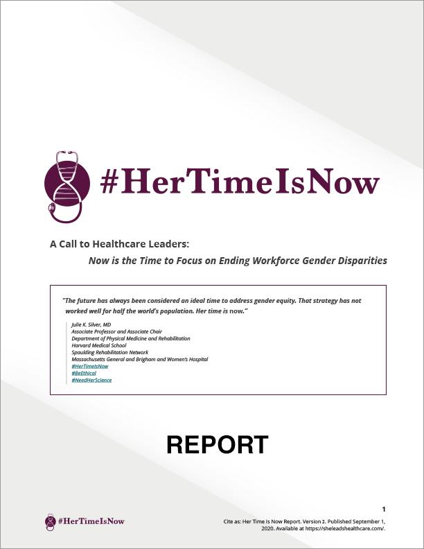 #HerTimeIsNow Report
